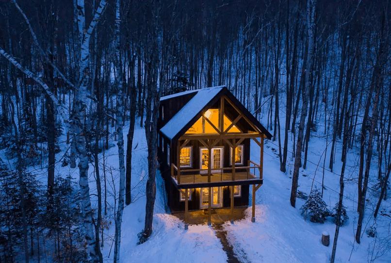 Pet Friendly Jackson, New Hampshire Cabin