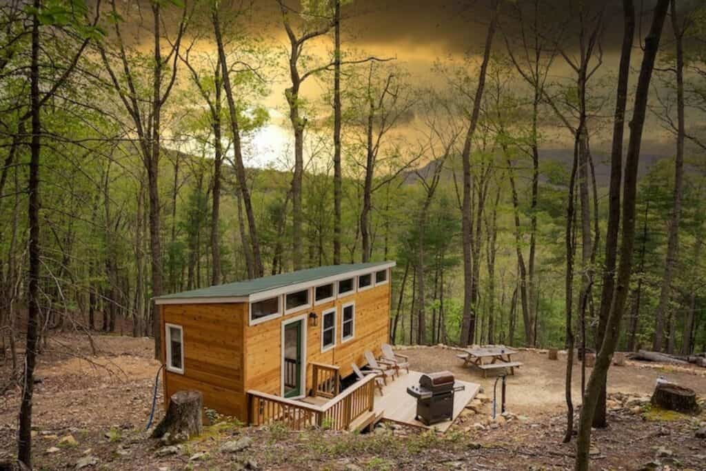 Pet Friendly Tiny Home On Acreage Cabin Rental Mathias WV