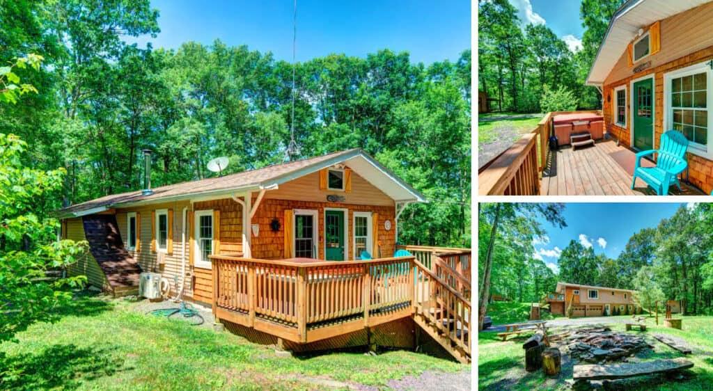 Private Cabin in the Heart of the Pocono Mountains