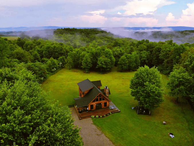 Private Pet Friendly WV Airbnb Cabin The Homestead