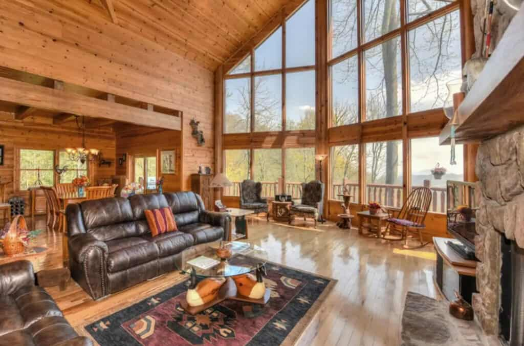 Cabin with Movie Theater, Game Room, & 2 Decks