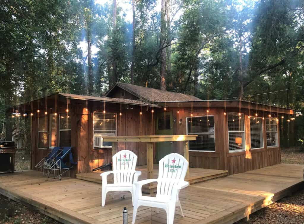 Charming Cabin Overlooking the Suwannee River