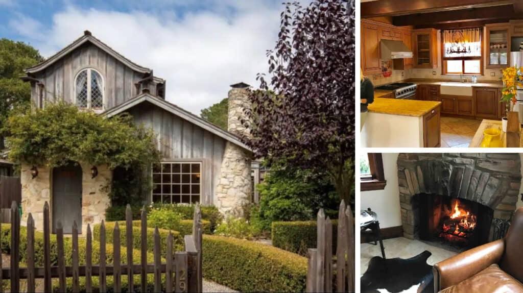Charming Stone Airbnb Cabin in Carmel