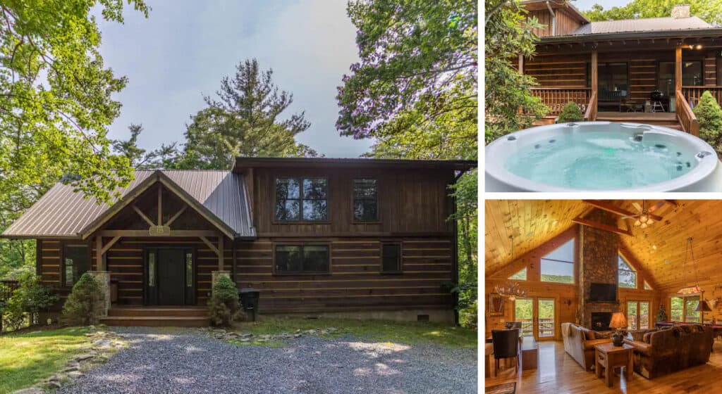 Child and Pet-Friendly Boone Cabin