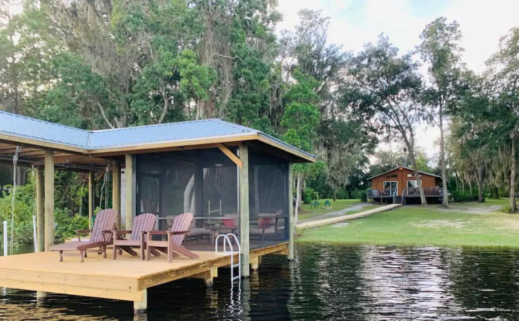 Dog Friendly Florida Lakefront Home with Private Dock