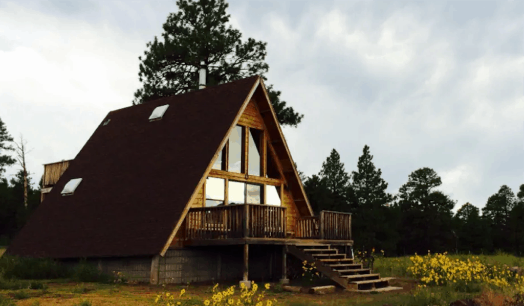 Flagstaff Aframe Top Wish listed Airbnb in AZ