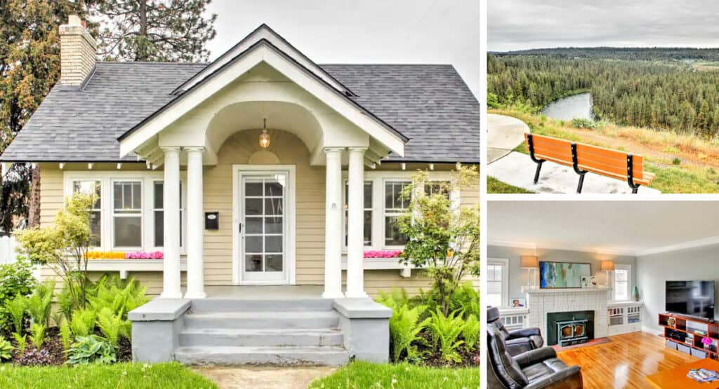 Historic Pet Friendly Airbnb Near Scenic Spokane River