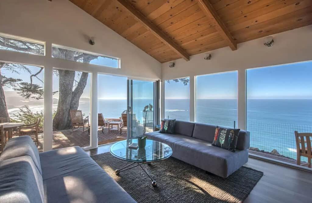 Large Big Sur Airbnb pet friendly