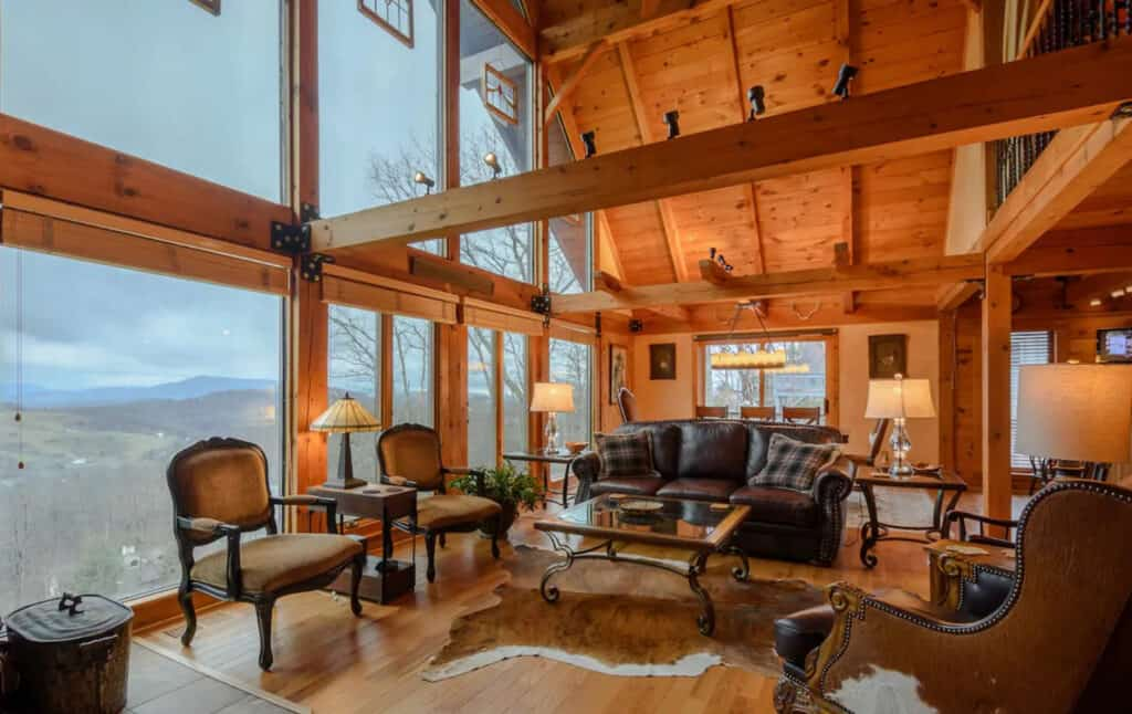 Large Boone Cabin with Breathtaking Mountain Views