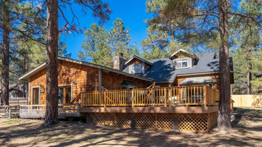 Million Dollar Flagstaff Cabin Retreat