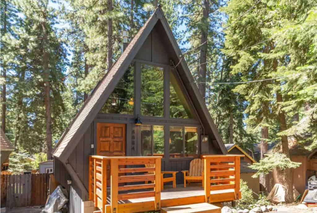 North Lake Tahoe Pet Friendly Airbnb Aframe