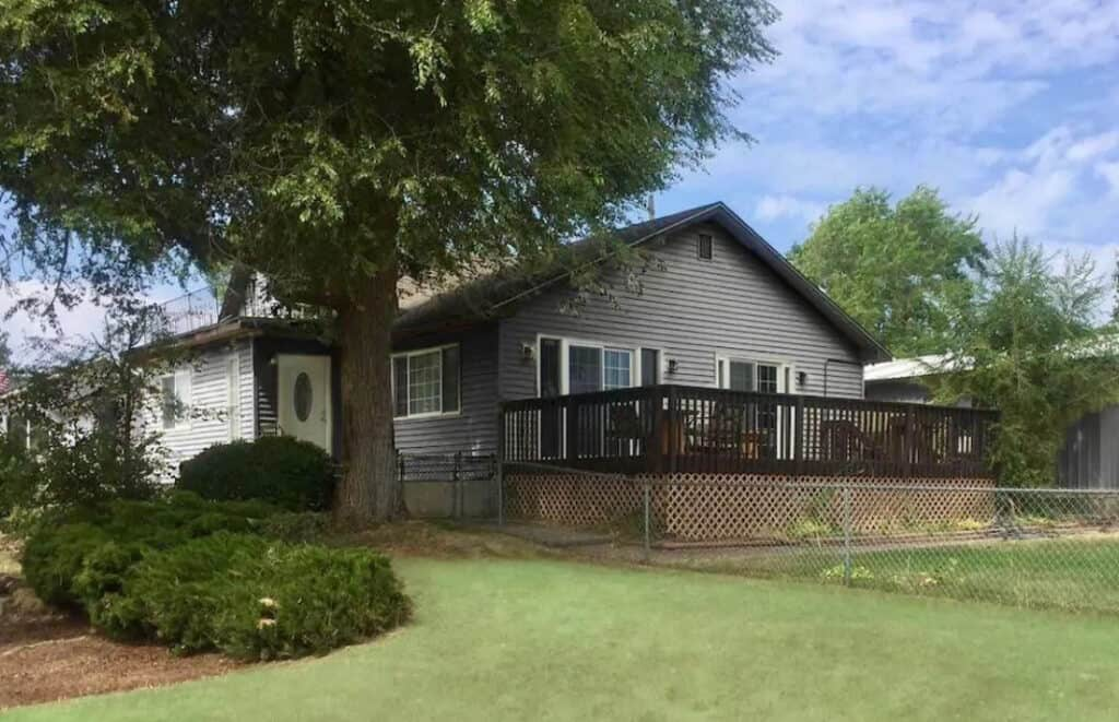 Pet Friendly Airbnb with Large Fenced-In Yard Near Clark Park