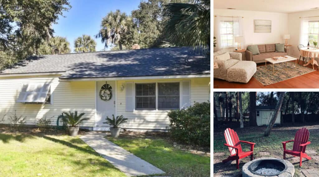 Pet Friendly Beach Cottage Close to Charleston