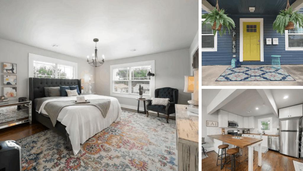 Pet Friendly Brady Heights Duplex Vacation Rental