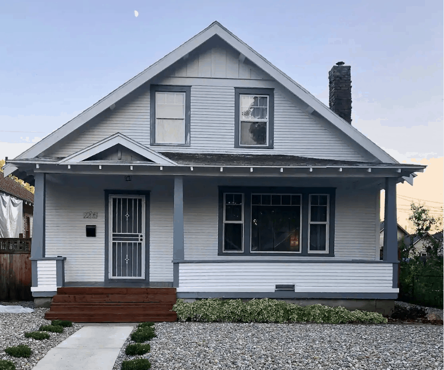 Quiet Spokane Rental Residential Home with Two Decks