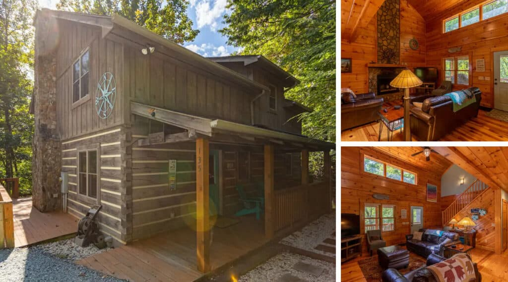 Secluded Cabin in the Forest of Valle Crucis