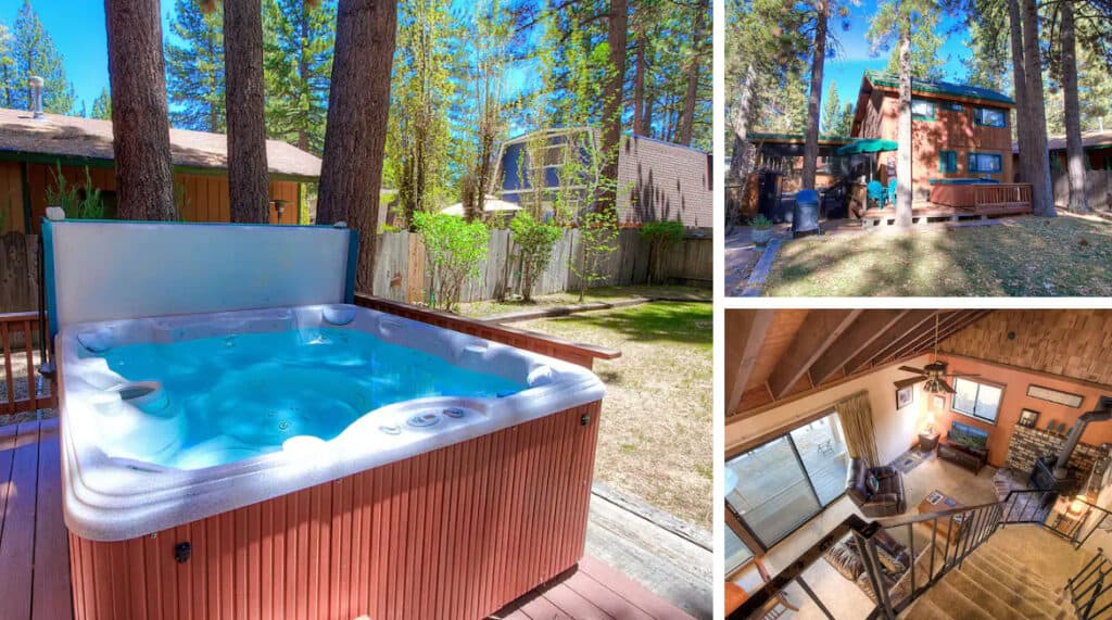 South Lake Tahoe Fenced Airbnb