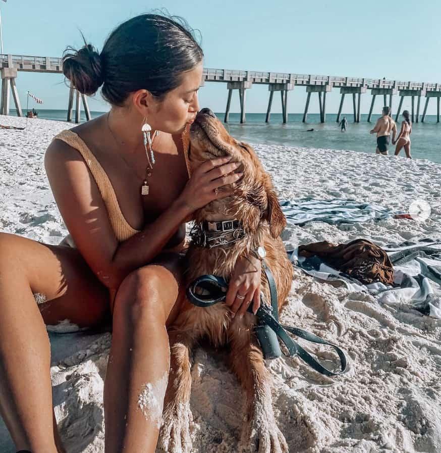 Dog Beach at Pier Park