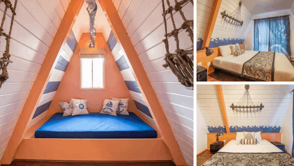Playful Pirate-themed Villa for 6 Guests