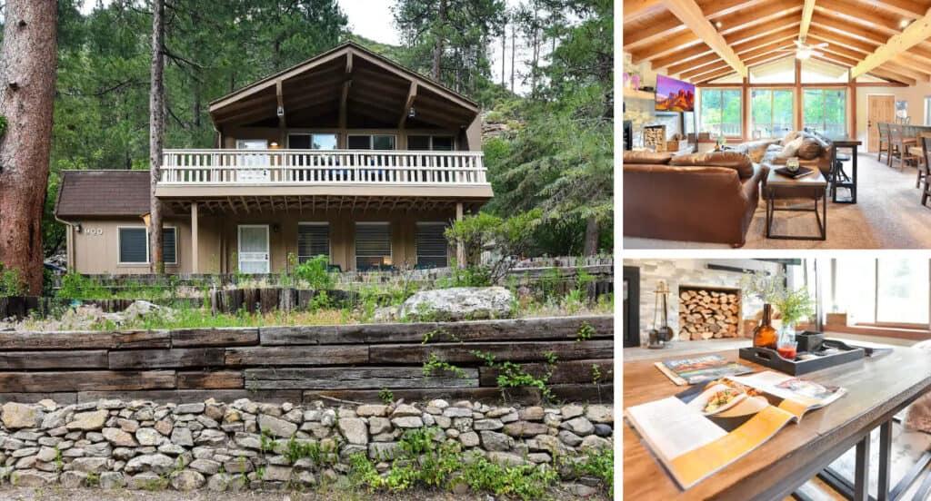 Secluded Oak Creek Retreat Cabin Pet-Friendly