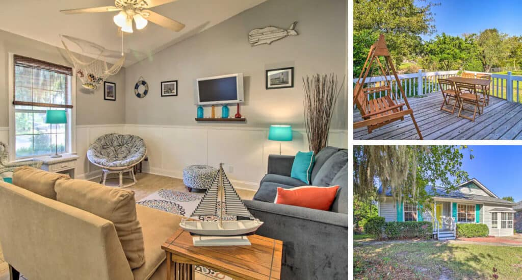 Nearby Whitemarsh Island Home with Fenced Yard Pet-Friendly