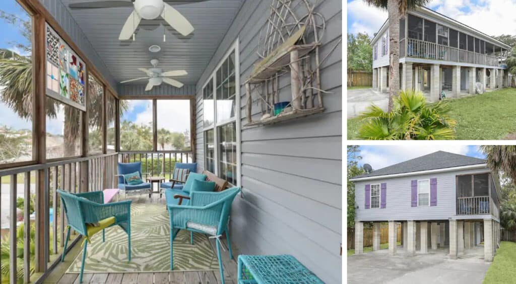 Pet & Family-Friendly Home With Screened Porch Tybee Island