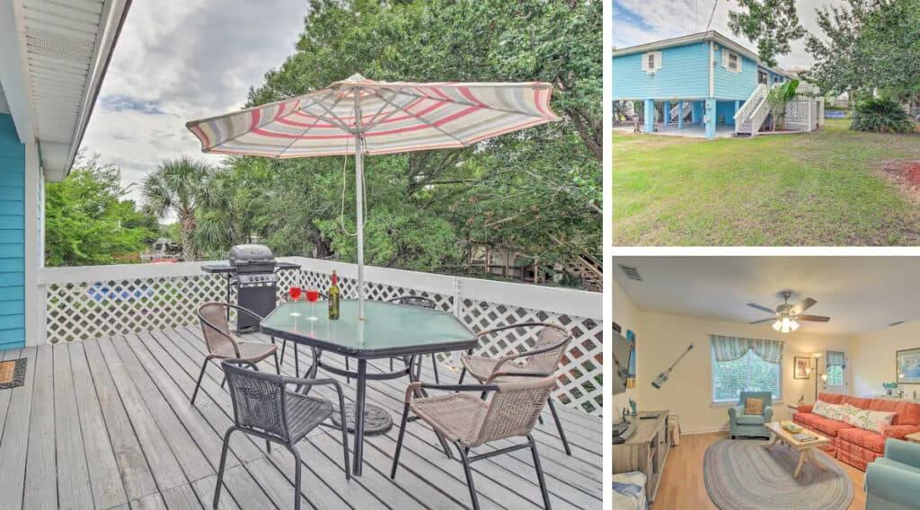 Pet-Friendly Tybee Island Rental with Fenced Yard & Gameroom