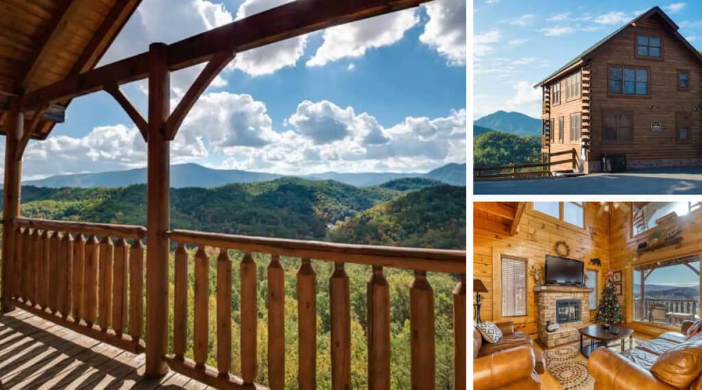Sevierville Cabin with Mountain Views & Hot Tub